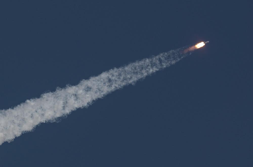 Lanzamiento de la Soyuz MS-18 con los tres nuevos astronautas que pasarán los próximos seis meses a bordo de la ISS. Image Credit: NASA